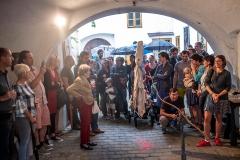 Vernisáž Sympozia umění a odpad, odpad a umění IV