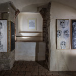 Výstava Václava Vokolka v Art Space NOV, 2017